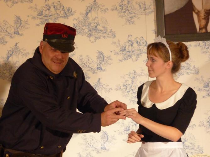 Vieux canton, jupons et autre espions